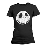 Camiseta The Nightmare Before Christmas CRACKED FACE