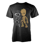 Camiseta Marvel Guardians Of The Galaxy Vol 2 I AM GROOT SCRIBBLES