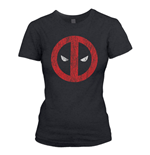 Camiseta Deadpool Cracked Logo
