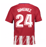 Camiseta 2017/18 Atlético Madrid 2017-2018 Home (Gimenez 24)