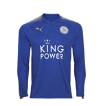 Camiseta manga larga Leicester City F.C. 2017-2018 Home