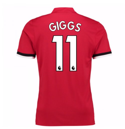 Camiseta 2017/18 Manchester United FC 2017-2018 Home (Giggs 11)