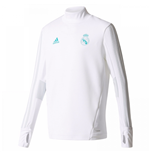 Camiseta manga larga Real Madrid 2017-2018 (Blanco)