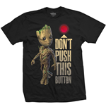 Camiseta Marvel Superheroes Guardians of the Galaxy Vol. 2 Groot & Button