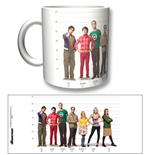 Taza Big Bang Theory - Full Cast