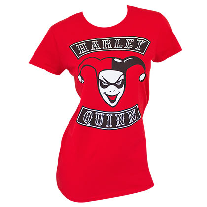 Camiseta Harley Quinn Red Ladies