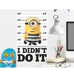Vinilo decorativo para pared Gru, mi villano favorito - Minions 274269
