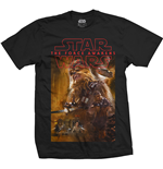 Camiseta Star Wars Episode VII Chewbacca Composition
