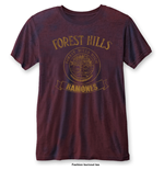 Camiseta Ramones Forest Hills with Burn Out Finishing