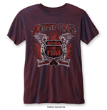 Camiseta Johnny Cash de hombre - Design: Ring of Fire