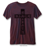 Camiseta Black Sabbath de hombre - Design: Vintage Cross