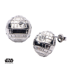 Star Wars Pendientes Death Star