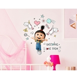Vinilo decorativo para pared Gru, mi villano favorito - Minions 274463