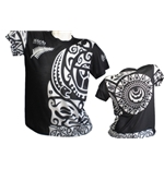 Camiseta All Blacks Tribal