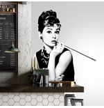 Vinilo decorativo para pared Audrey Hepburn 274635