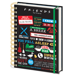 Cuaderno A5 Friends (Infographic)