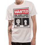 Camiseta Rick and Morty - Wanted