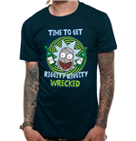 Camiseta Rick and Morty - Riggity Riggity Wrecked