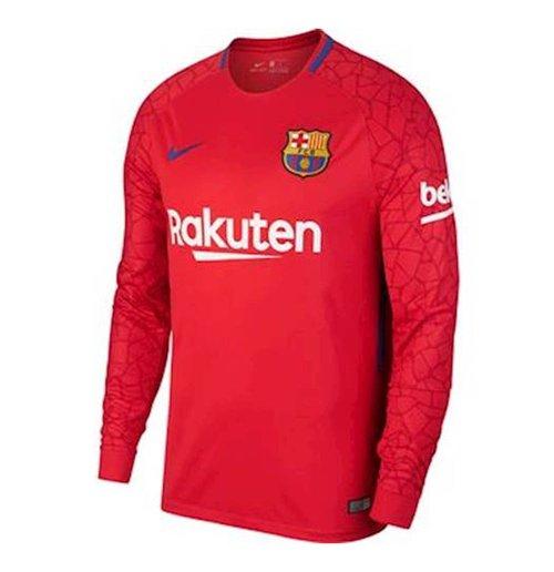 Compra Camiseta 2017 18 FC Barcelona 2017-2018 Away (Rojo) Original ae488a8991fca