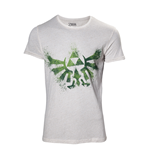 Camiseta The Legend of Zelda - Zelda Hyrule Nappy White