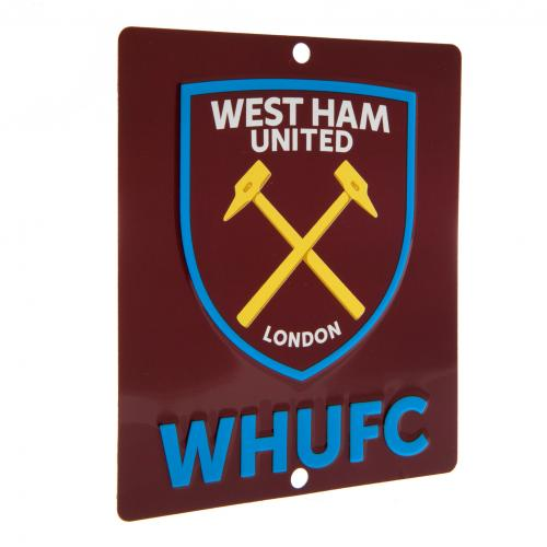 Placa para ventana West Ham United
