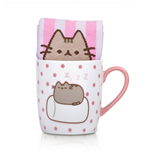 Pusheen Taza con Calcetines Marshmallow