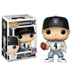 NFL POP! Football Vinyl Figura Derek Carr (Oakland Raiders) 9 cm