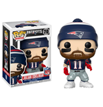 NFL POP! Football Vinyl Figura Julian Edelman (New England Patriots) 9 cm