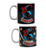 Marvel Comics Taza sensitiva al calor Spider-Man