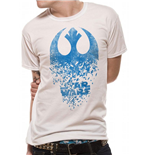 Camiseta Star Wars VIII Jedi Badge Explosion