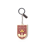 The Legend of Zelda Llavero caucho Hero's Shield 7 cm