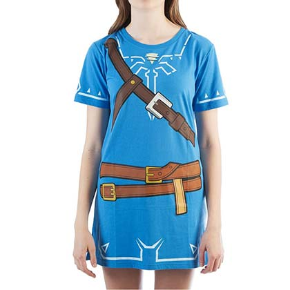 Vestido/Disfraz The Legend of Zelda Breath Of The Wild de mujer