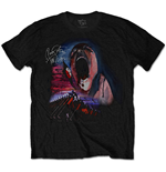 Camiseta Pink Floyd de hombre - Design: The Wall Scream & Hammers