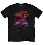 Camiseta Pink Floyd de hombre - Design: The Wall Flag & Hammers