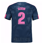 Camiseta 2017/18 Atlético Madrid 2017-2018 Third (Godin 2)
