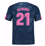 Camiseta 2017/18 Atlético Madrid 2017-2018 Third (Gameiro 21) de niño