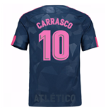 Camiseta 2017/18 Atlético Madrid 2017-2018 Third (Carrasco 10) de niño