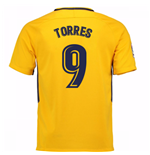 Camiseta 2017/18 Atlético Madrid 2017-2018 Away (Torres 9)