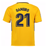 Camiseta 2017/18 Atlético Madrid 2017-2018 Away (Gameiro 21) de niño
