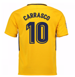 Camiseta 2017/18 Atlético Madrid 2017-2018 Away (Carrasco 10) de niño
