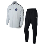 Chándal Paris Saint-Germain 2017-2018 (Blanco)