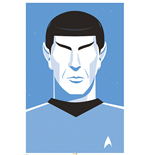 Póster Star Trek - Pop Spock - 50Th Anniversary - 61X91,5 Cm