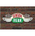 Póster Friends - Central Perk Brick - 61X91,5 Cm