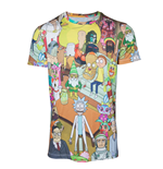 Camiseta Rick and Morty - Printed Allover