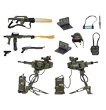 Aliens Pack Accesorios para Figuras USCM Arsenal Weapons Accessory Pack