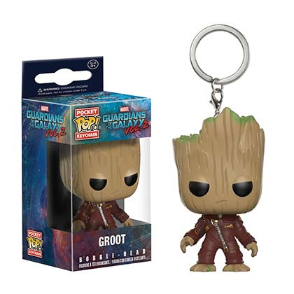 Llavero Guardians of the Galaxy Groot Funko Pop