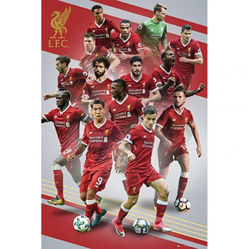 Póster Liverpool FC Players 16