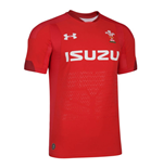 Camiseta Gales Rugby 2018-2019 Home (Rojo)
