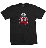 Camiseta Star Wars Episode VIII BB-8 Resistance