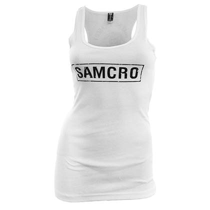 Camiseta de Tirantes Sons of Anarchy SAMCRO